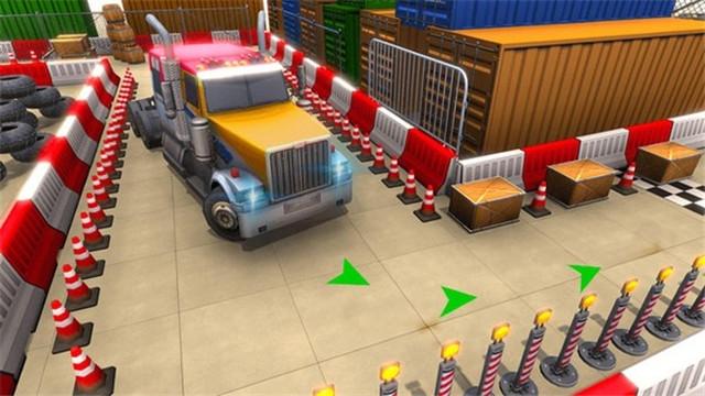 城市卡车停车模拟器游戏下载