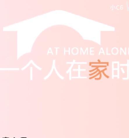 一个人在家时中文版