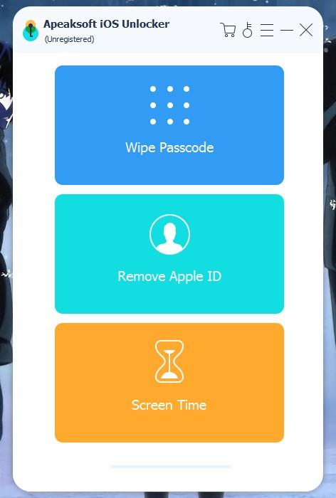 Apeaksoft iOS Unlocker(iOS解锁工具)绿色版