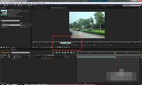 Adobe After Effects CS4截图