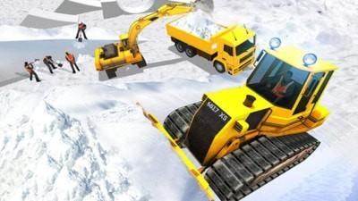 雪山挖掘机模拟器游戏下载