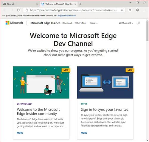 Edge开发者版89下载