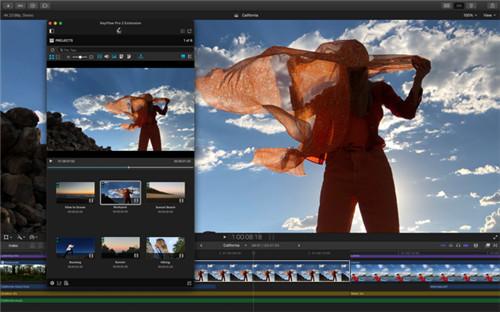 Final Cut Pro x破解版Mac