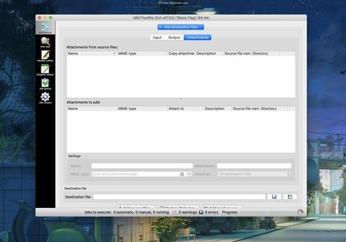 MKVtoolnix for Mac中文版