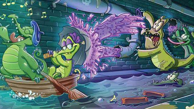 鳄鱼小顽皮爱洗澡破解版