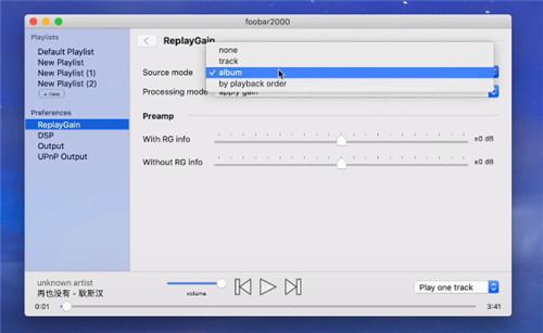 foobar2000 for mac免费下载