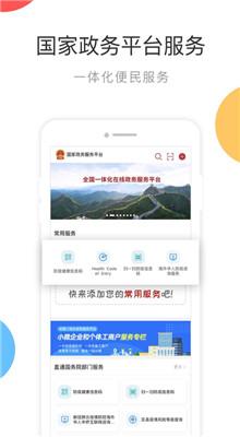 国家政务服务平台app健康码