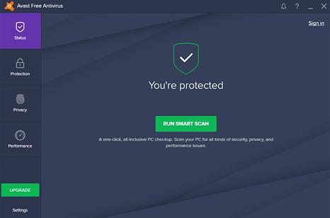 Avast Free Antivirus免费版