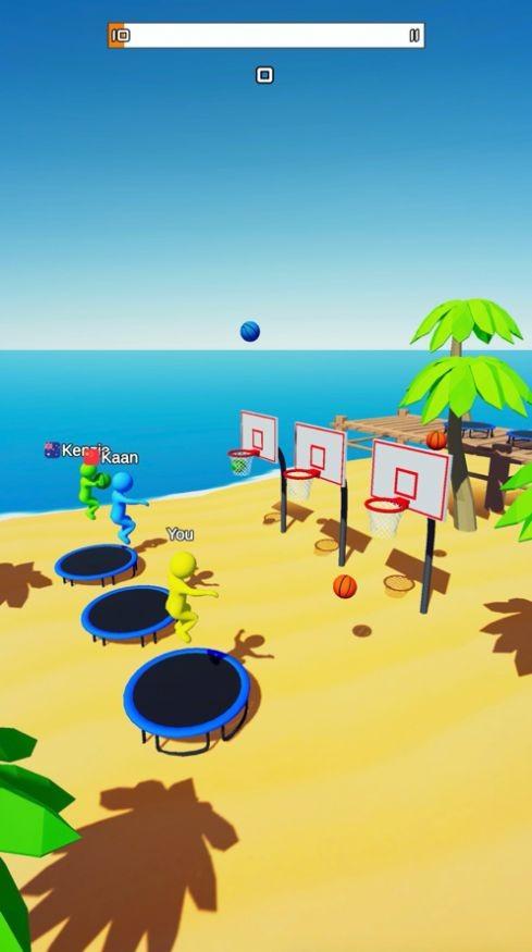 飞天大灌篮3D破解版游戏