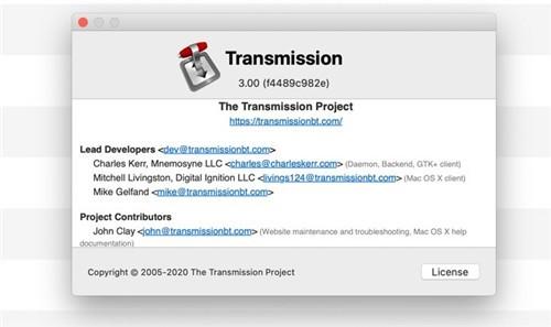Transmission mac版下载