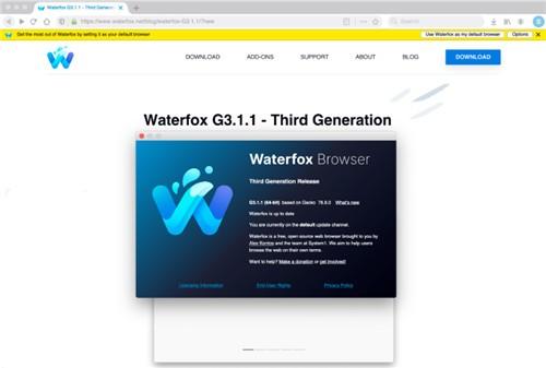 Waterfox水狐浏览器mac版下载