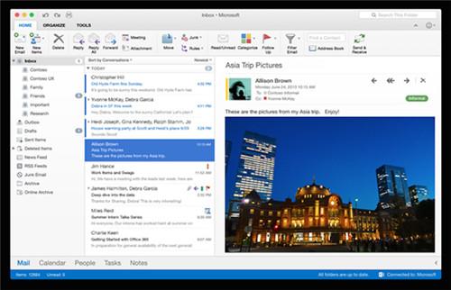 Microsoft Office 2016 mac破解版下载