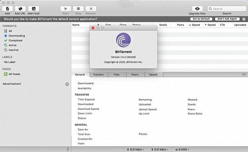 BitTorrent mac版下载