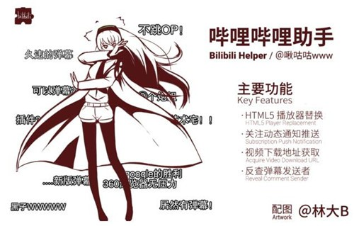 Bilibili Helper插件下载