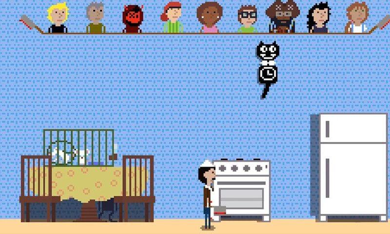 厨房躲猫猫游戏