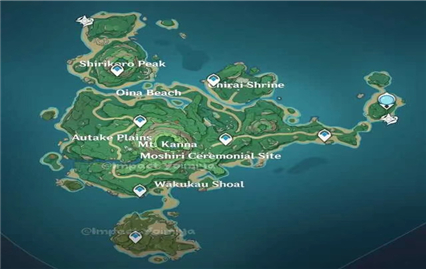 原神2.2有新地图吗