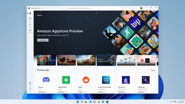 微软推出Win11安卓子系统预览版